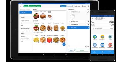 Application Caisse Android sur Tablette avec Monétique en Ligne